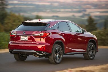 2019_Lexus_RX_350_rear_right